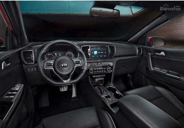 So sánh xe Kia Sportage 2016 và Hyundai Tucson 2016 về thiết kế bảng tablo.