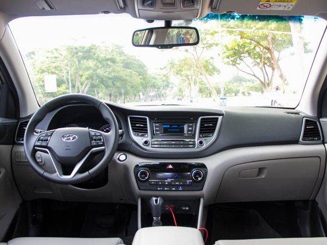 Nội thất của Hyundai Tucson 2016.