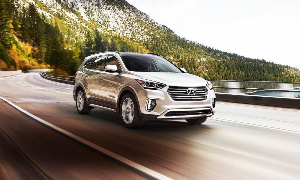 Đánh giá xe Hyundai SantaFe 2017.