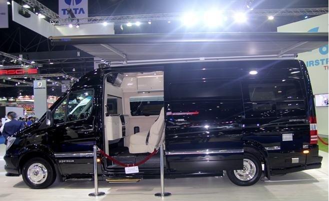"Airstream Interstate - ""ngôi nhà di động"" của Mercedes .1"
