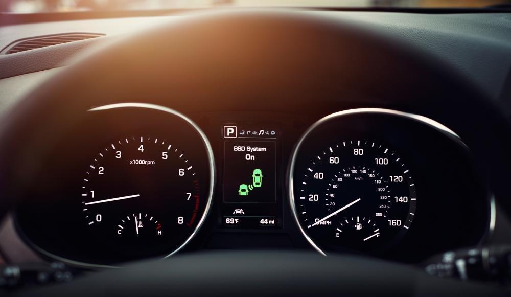 Đánh giá xe Hyundai SantaFe 2017 phần tiện nghi 1.