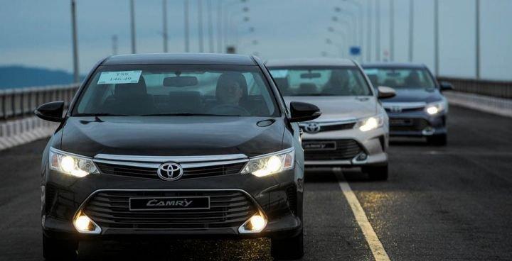 Toyota Camry là mẫu xe vốn rất quen thuộc với thị trường Việt.