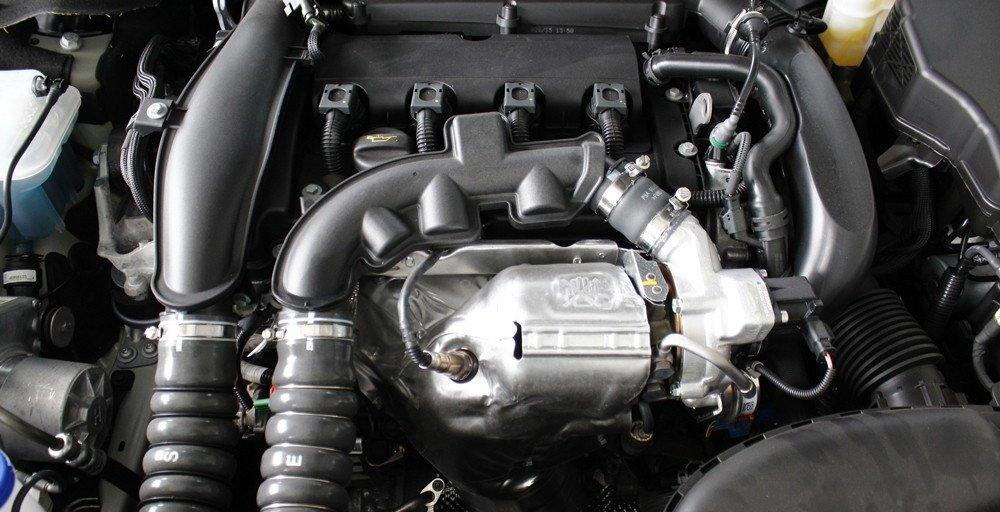 Động cơ của Peugeot 508 2015 cho hiệu suất cao hơn nhờ công nghệ tăng áp.