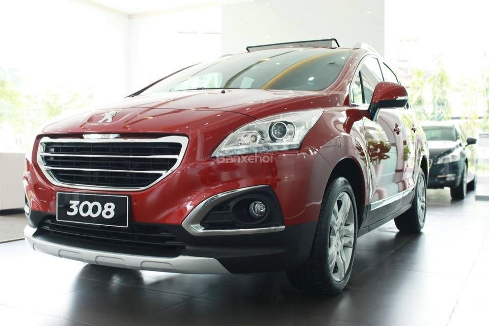 Bán ô tô Peugeot 3008 năm sản xuất 2016, màu đỏ, xe Pháp-0