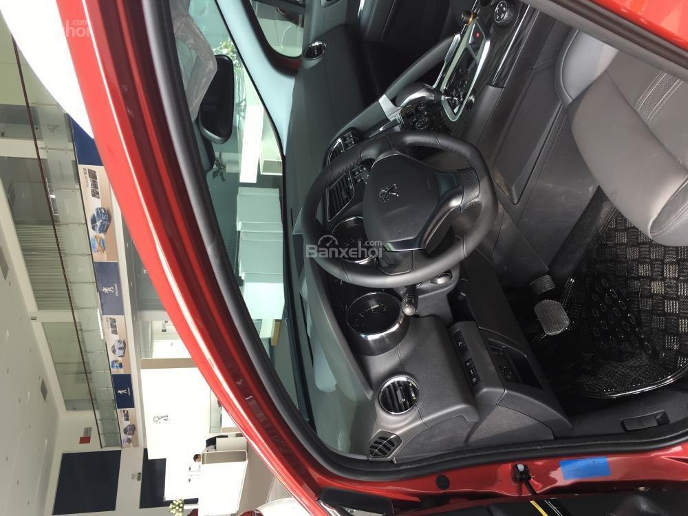 Bán ô tô Peugeot 3008 năm sản xuất 2016, màu đỏ, xe Pháp-4