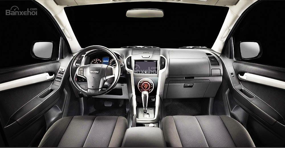 Đánh giá xe Isuzu D-MAX 3.0 có hệ thống giải trí phong phú.