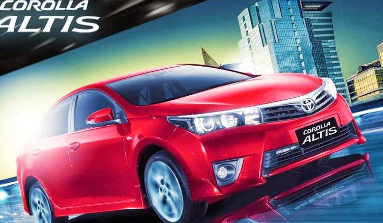 Đánh giá xe Toyota Altis 2016