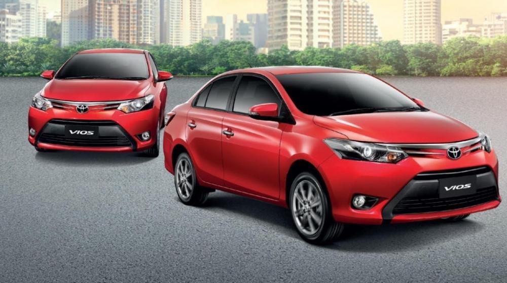 Toyota Vios 2015 sở hữu thiết kế sắc sảo và hiện đại.