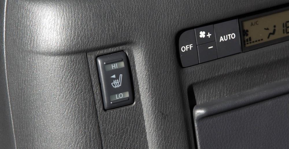 Đánh giá xe Infiniti QX80 2015 có chức năng sưởi dành cho hàng ghế thứ hai.