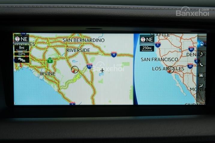 Đánh giá xe Lexus GS 350 2016: Lexus GS 350 2016 được trang bị màn hình trung tâm 12,3 inch.