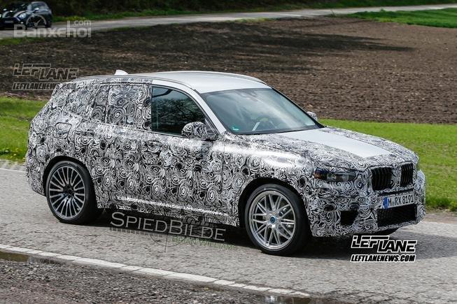 BMW X3 M 2019 lộ diện trên đường thử.