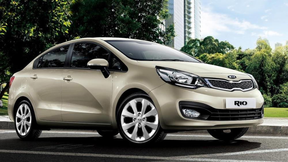 So sánh ngoại thất Kia Rio sedan và Honda City 2016.