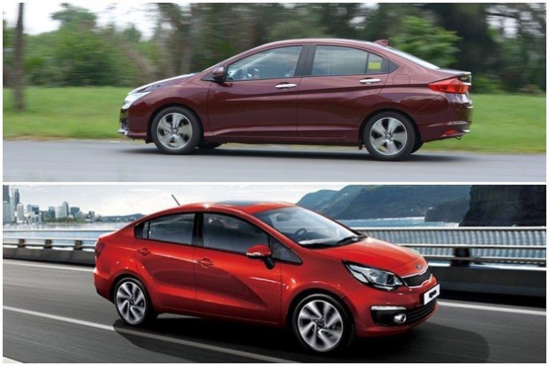 So sánh Kia Rio sedan và Honda City 2016 - Một chín, một mười.