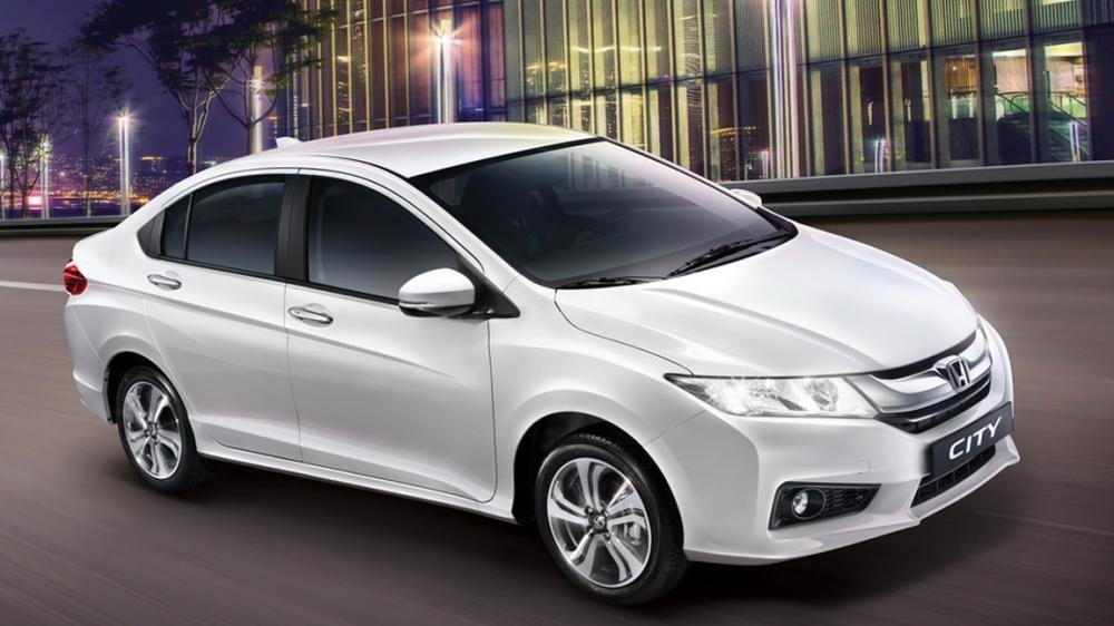 So sánh ngoại thất Kia Rio sedan và Honda City 2016