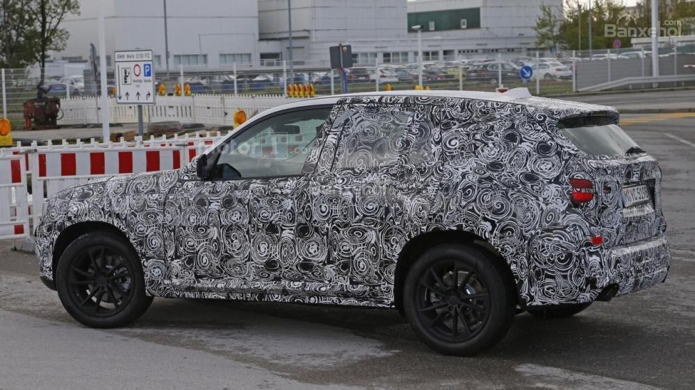 BMW X3 2018 lần đầu để lộ nội thất 1