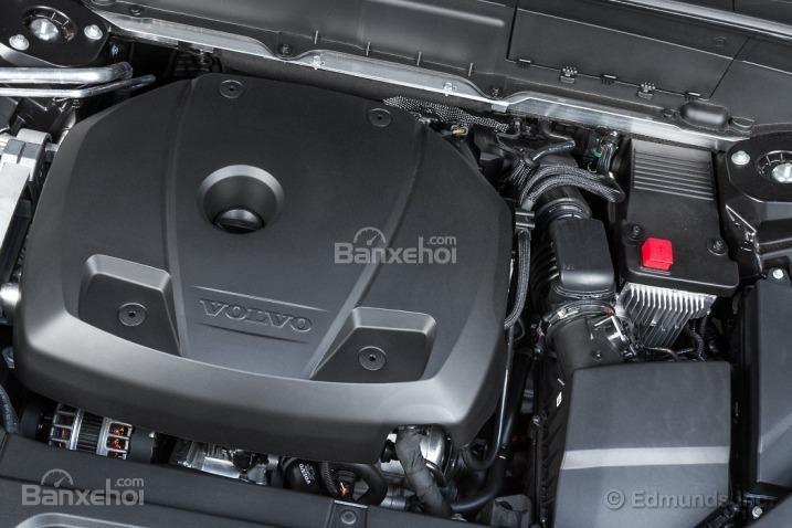 Đánh giá xe Volvo XC90 2016: Xe được trang bị hộp số tự động 8 cấp