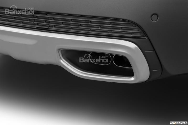 Đánh giá xe Volvo XC90 2016: Ống xả đơn.