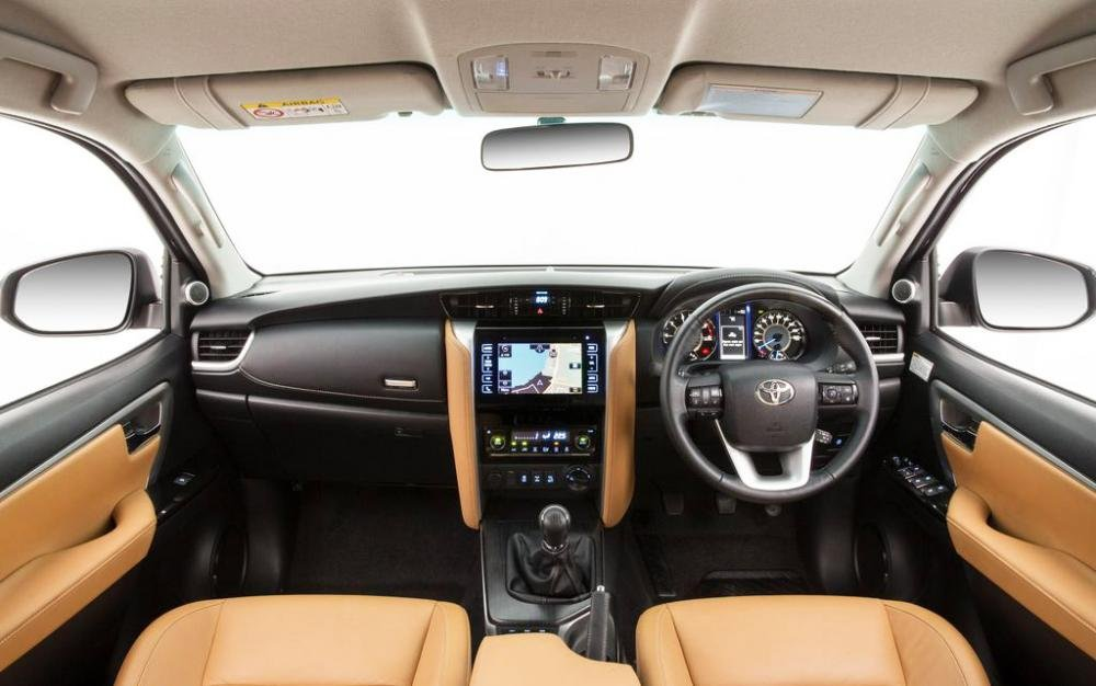 Trang bị tiện ích trên Toyota Fortuner 2016-2017