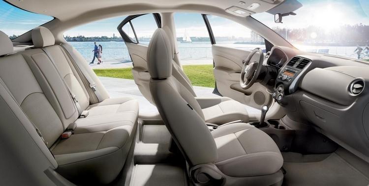 Đánh giá xe Nissan Sunny 2016 với 5 chỗ ngồi thoải mái.