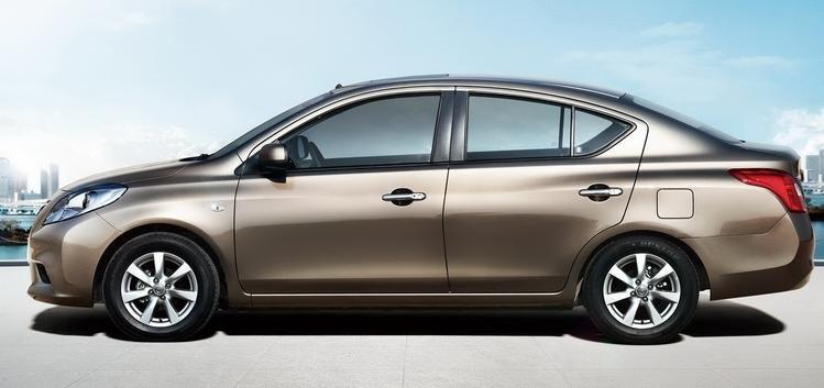 Đánh giá xe Nissan Sunny 2016 có thân xe dài kiểu truyền thống.