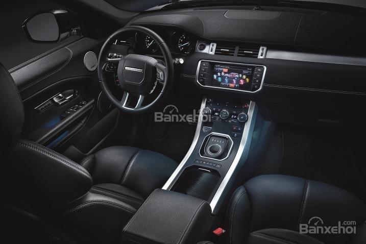 Đánh giá xe Land Rover Range Rover Evoque 2016: Thiết kế nội thất cuốn hút.