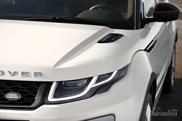 Đánh giá xe Land Rover Range Rover Evoque 2016: Thiết kế có một số tinh chỉnh nhỏ