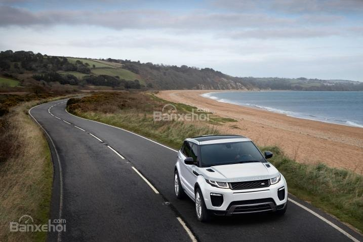 Đánh giá xe Land Rover Range Rover Evoque 2016: Hệ thống lái nhanh nhạy