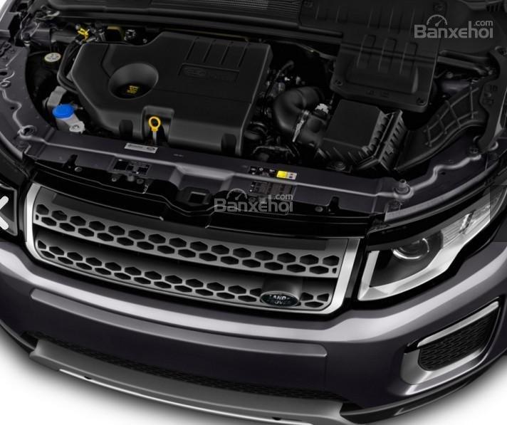 Đánh giá xe Land Rover Range Rover Evoque 2016: Đi kèm hộp số tự động 9 cấp