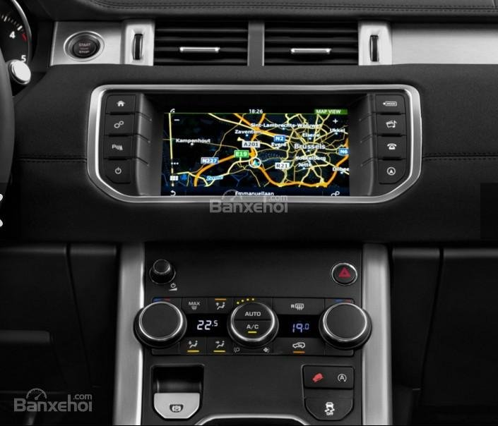 Đánh giá xe Land Rover Range Rover Evoque 2016: Xe được tích hợp bản đồ