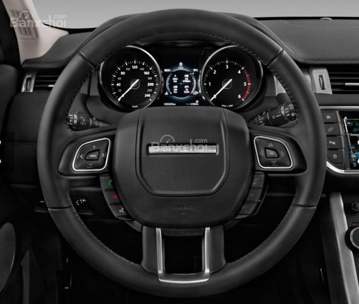 Đánh giá xe Land Rover Range Rover Evoque 2016: Vô lăng xe.