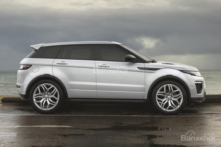 Đánh giá xe Land Rover Range Rover Evoque 2016: Thiết kế thân xe.