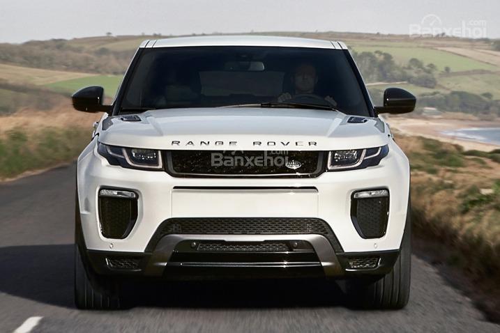 Đánh giá xe Land Rover Range Rover Evoque 2016: Thiết kế đầu xe đậm chất Land Rover.
