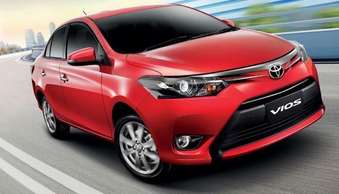 Đánh giá xe Toyota Vios 2016 có ngoại thất hiện đại.