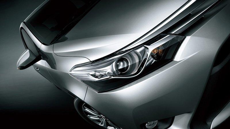 Đánh giá xe Toyota Vios 2016 có đèn chiếu sáng dạng Projector.
