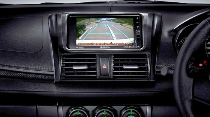 Đánh giá xe Toyota Vios 2016 có màn hình DVD trên phiên bản cao cấp.