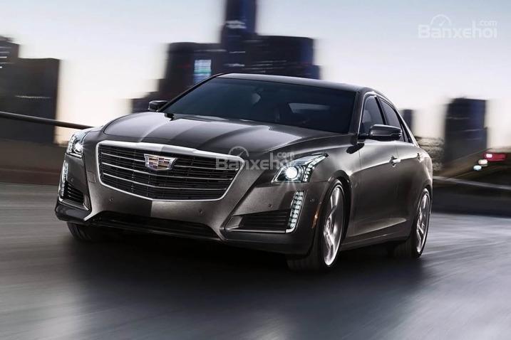 Đánh giá xe Cadillac CTS 2016: Động cơ mạnh mẽ, công nghệ tiêu chuẩn cao.