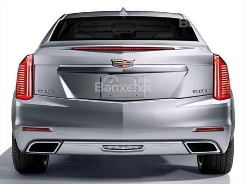 Đánh giá xe Cadillac CTS 2016: Thiết kế đuôi xe.