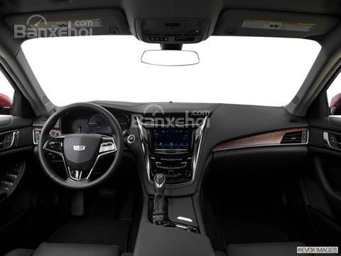 Đánh giá xe Cadillac CTS 2016: Xe được trang bị nội thất tiện nghi.