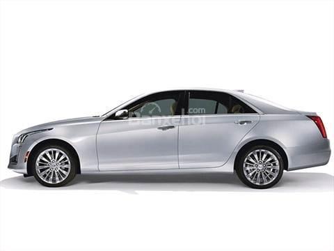 Đánh giá xe Cadillac CTS 2016: Thiết kế thân xe liền mạch.