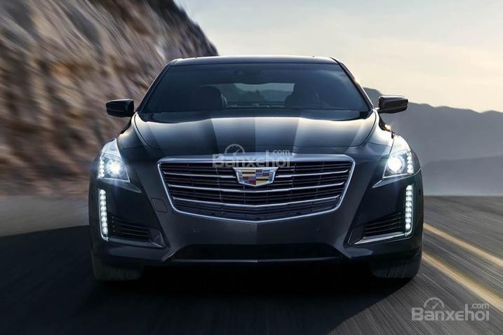 Đánh giá xe Cadillac CTS 2016: Thiết kế đầu xe.