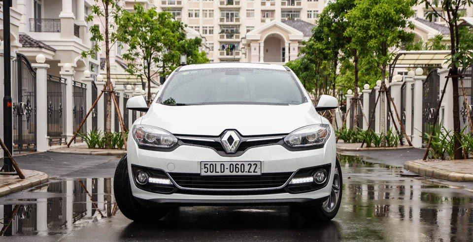 Đánh giá xe Renault Megane 2015 có diện mạo thể thao, trẻ trung.