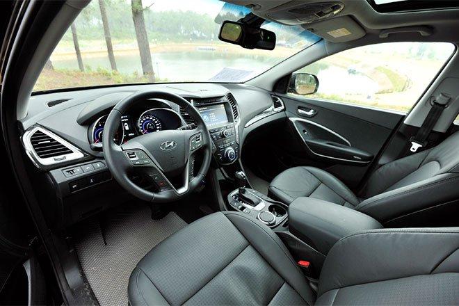 So sánh xe Hyundai SantaFe và Toyota Fortuner 11