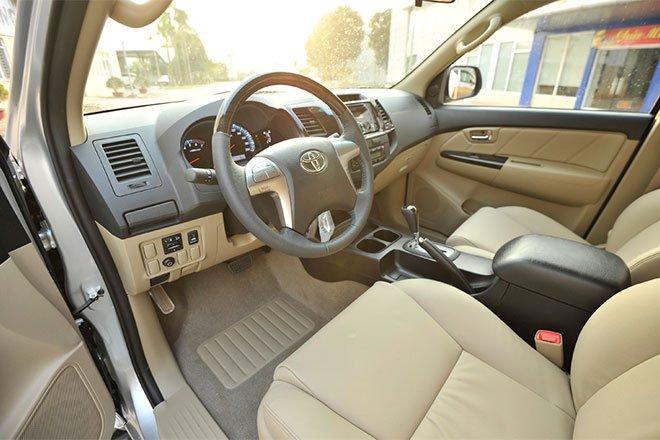 So sánh xe Hyundai SantaFe và Toyota Fortuner 12