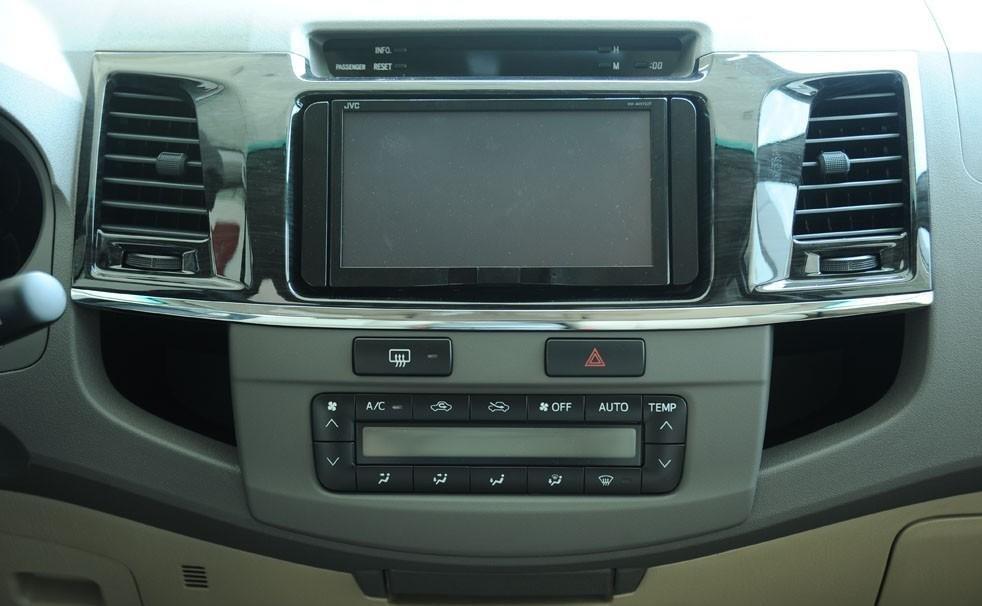 So sánh xe Hyundai SantaFe và Toyota Fortuner 16