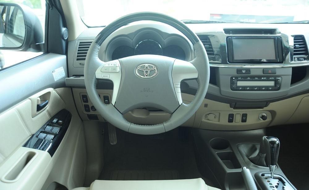 So sánh xe Hyundai SantaFe và Toyota Fortuner 18