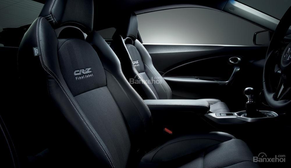 Hình ảnh về phiên bản Honda CR-Z Alpha Final Label 1