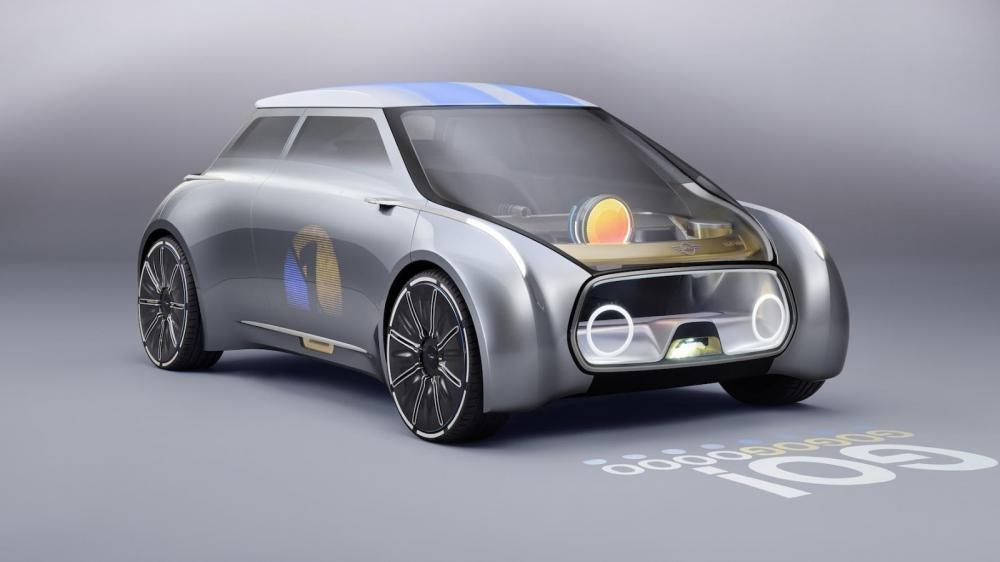 Hết BMW, đến lượt Mini & Rolls-Royce ra mắt concept Vision 100 2