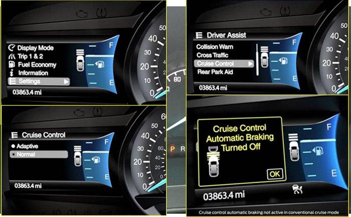 Đánh giá xe Ford Ranger Wildtrak 2015 có tính năng kiểm soát tốc độ tự động - ACC.
