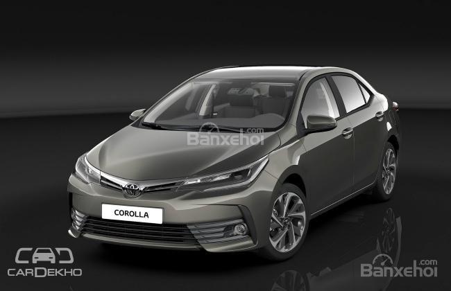 Toyota Corolla facelift sẽ ra mắt thị trường Ấn Độ vào năm 2017.
