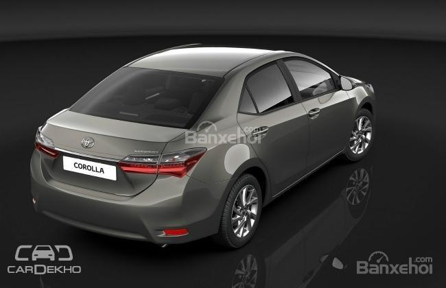 Toyota Corolla facelift sẽ ra mắt thị trường Ấn Độ vào năm 2017 1